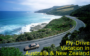 Fly Drive Vacation in Australia and New Zealand